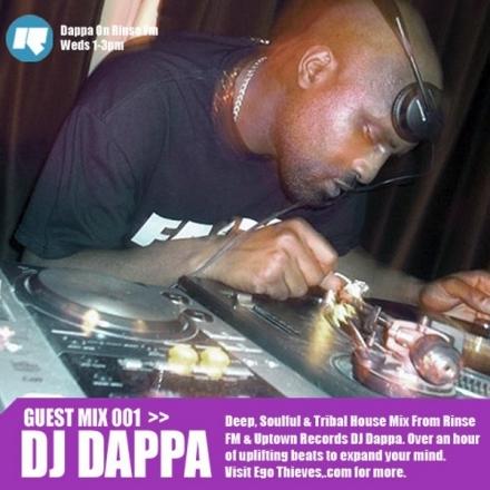 Guest Mix 1 – DJ Dappa