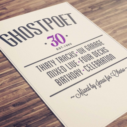 Ghostpoet x Thirty
