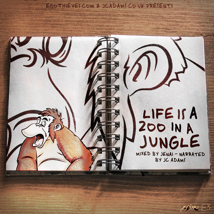 Life-Is-A-Zoo-In-A-Jungle-Mixed-By-Jenai-Artwork